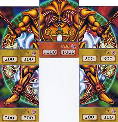 Orica Karten-Set: Complete Exodia Set Common Karten im Yugioh! Anime Design | inkl. 100 Arkero-G Small Card Sleeves