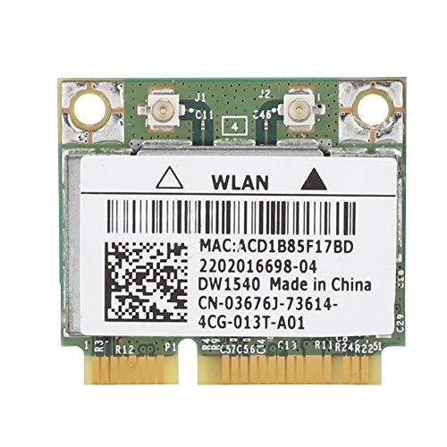 Pokerty Computer-Netzwerkkarte, für Dell Broadcom BCM943228HM4L DW1540 Dual-Band-Mini-PCI-E-WLAN-Karte 802.11 a/b/g/n - Ibm-xp-thinkpad-laptops