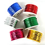 #7: HOME CUBE® Plastic Twist Tie Wire Spool with Cutter for Garden Yard Plant 50m - Random Color