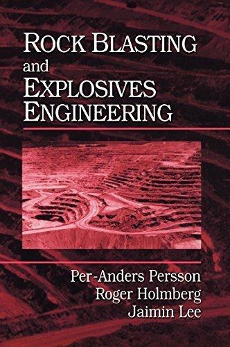Rock Blasting and Explosives Engineering 1st edition by Persson, Per-Anders, Holmberg, Roger, Lee, Jaimin (1993) Gebundene Ausgabe