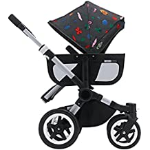Bugaboo Donkey Tailored Fabric Set - Andy Warhol Bugs (Special Edition) by Bugaboo