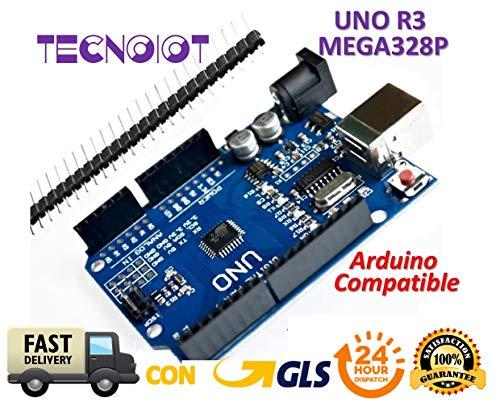 UNO R3 REV3 ATmega328 16U2 CH340 Mini USB 100% Compatible with Arduino   Scheda UNO R3 UNO R3 con microcontrollore basato su ATMEGA16U2 ATmega328P compatibile con scheda UNO Arduino