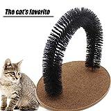Huaaag Katzenspielzeug, Pet Cat Wisch Haar Spielzeug Kratz Massage, Komfort-Massage, Kamm-Haar, Katze Lieblingsspielzeug, Tier Spielzeug