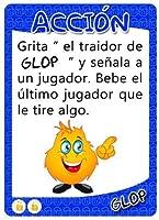Glop Game - Juegos para Beber - Juegos de Cartas para Fiestas - Regalos Originales de Glop 2013, SL