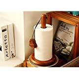 Crafts A to Z handicrafts Wood Tissue Holder/Table Decoration Tissue Pumping Napkin Holder Size(LxBxH-17x17x32)Cm