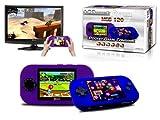 Pocket Konsole OVERMAX OV-MGS-120 mit TV Ausgang und mit 120 integrierten Spielen mit wundervoller Grafik - Idealer Reisebegleiter