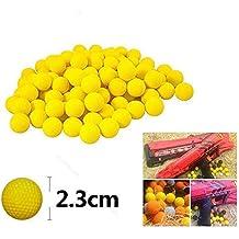 Gaocheng 100 unids Bolas de Bolas de Espuma de Repuesto Redondo Bolas Reemplazo de Bolas Compatible