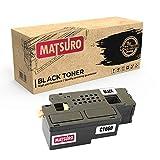 Matsuro Original   Kompatibel Tonerkartusche Ersatz für Dell C1660 (1 SCHWARZ)