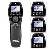 Neewer® DSLR Kamera-Auslöser 320ft / 100m Wireless-Timer-Fernbedienung 2.4G 32CH Sender Empfänger mit LCD-Display für Sony a900 / a850 / a700 / a560 / a550 / a500 / a450 / a400 / a350 / a300 / a200 / a100 / a77 / a65 / a57 / a55 / a35 / a33 / a37, Konica Minolta DIMAGE a2 / a1 / 9 / 7Hi / 7i / 7/5/4/3 DYNAX 7D / 5D