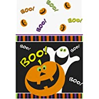 Halloween Tischdecke BOO 1,37 x 2,13 cm