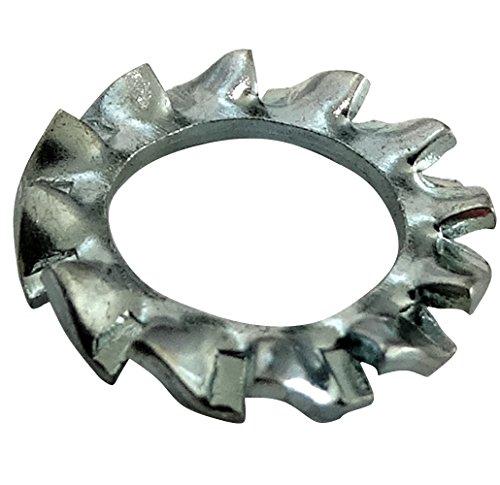 Aerzetix: 100x Sicherungsscheiben Zahnaußenverzahnung Zahnscheibe M6 Ф11mm verzinktem Stahl C17670