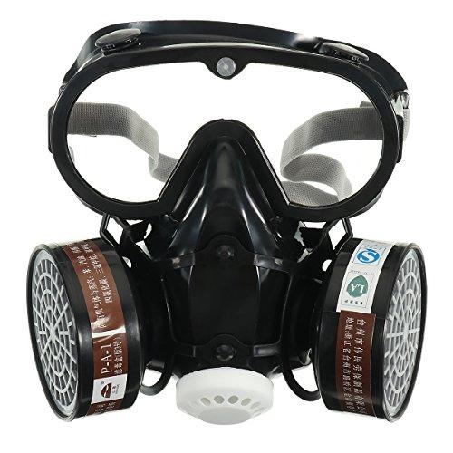 lovinn Sicherheit Atemschutzmaske, Chemische Anti-Staub Filter