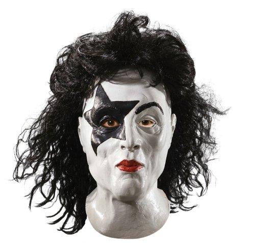 Rubie's Kiss Hard Rock Latex Maske The Starchild -
