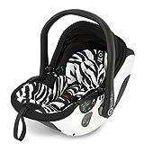 Kiddy Babyschale evo-lunafix 600 zebra inklusiv Isofix Base 2