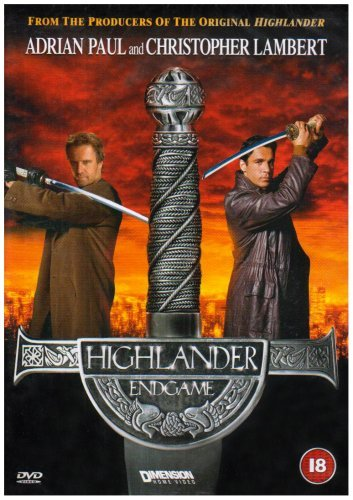 Highlander - Endgame [DVD] by Adrian Paul