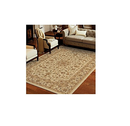 Price comparison product image Luxury Large Soft Pile Rug. Stain and Fade Resistant. Classic Contemporary Design. MADE IN USA