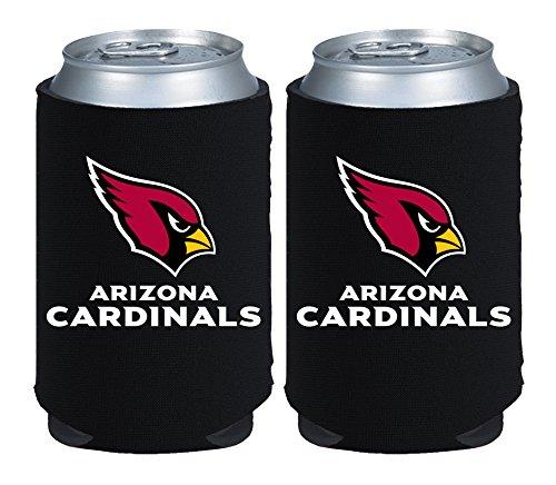 kolder-licensed-inc-beverage-insulator-2-piece-arizona-cardinals-magnetic-kaddy-set-black-12-oz