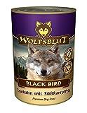 WOLFSBLUT Black Bird mit 65% Truthahnfleisch 6 x 395g
