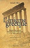 L'énigme grecque - La Découverte - 23/03/2017