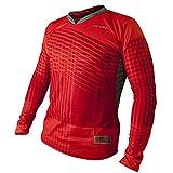 Rinat Speed - Maglia da portiere unisex, colore rosso, taglia S
