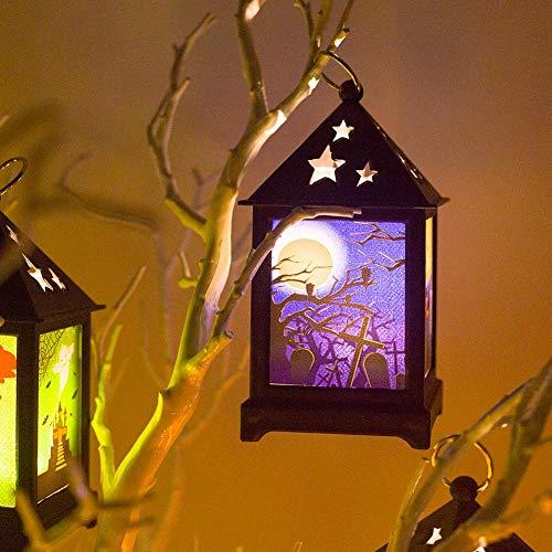 ED Halloween Licht Nachtlicht Bar Atmosphäre Dekoration Requisiten Hohl Ornamente ()
