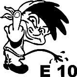 Loose Werbetechnik Piss E10 Aufkleber,Auto,Motorrad,Quad