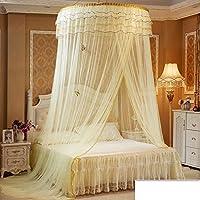 Mosquitero cama con dosel - cúpula de encaje ropa de cama de la red-C 150x200cm(59x79inch)