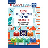 Oswaal CBSE Question Bank Class 10 Mathematics Standard Book Chapterwise & Topicwise Includes Objective Types & MCQ's (For 20