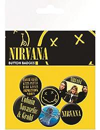 GB Eye LTD, Nirvana, Smiley, Set de Boutons