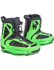 Ronix Parks - Botas de wakeboard para hombre, color verde, talla 46