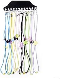 TOOGOO(R) 12pcs Enfants Bambins Monocle/Spectacles/lunettes Cordelette Support cordes---Couleur aleatoire