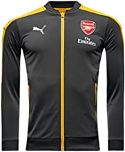 2016-2017 Arsenal Puma Stadium Jacket (Ebony)