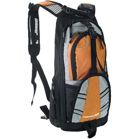 Trespass Survey Hydra-Pack - Mochila, color negro / naranja