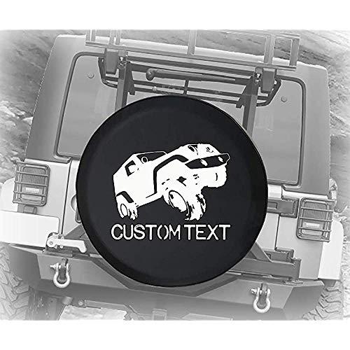 Y.Z.L. Copriruota di scorta Personalizzato Copriruota di scorta US Fuoristrada sollevato Accessori SUV camper14/15/16/17