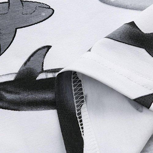 Fuibo Neugeborene Babydecke Swaddle Print Schlafsack Schlaf Sack Kinderwagen Wrap (Weiß)