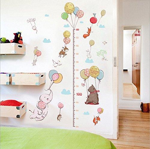 Hongrun Kleine Tiere wie der Ballon Höhe - Kinderzimmer Schlafzimmer Hyun aus Kindergarten Klasse und die Wände sind mit Wandgemälden 155 * 85 cm eingerichtet