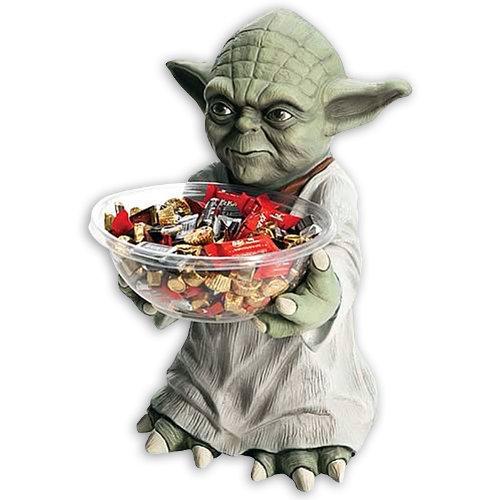Star Wars Candy Bowl Holder Yoda (Wars Bowl Stormtrooper Candy Star)