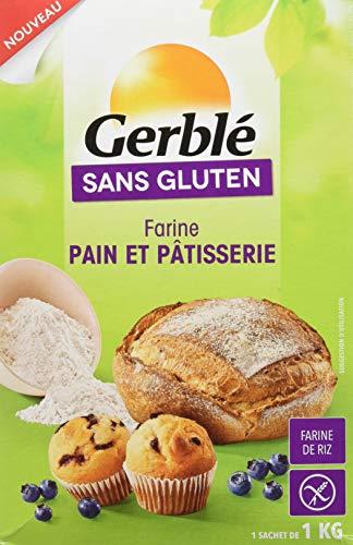 Gerblé Farine Pain/Pâtisserie sans Gluten 1 kg
