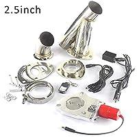 """StageOnline 2.5"""" / 3"""" Acero Inoxidable silenciador de Escape eléctrico Kit de Sistema de Interruptor de válvula con Control Remoto"""