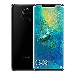 HUAWEI Mate 20 Pro 128 GB 6.39-Inch 2K FullView Android 9.0 SIM-Free Smartphone with New Leica Triple AI Camera, Single SIM, UK Version - Black