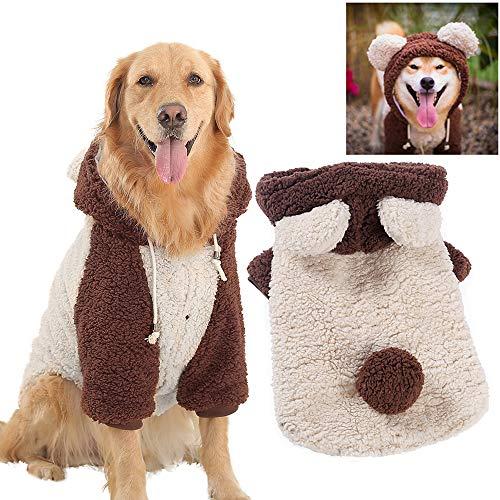 MCdream Hund Jacken Kleidung Haustiere Haustiere Hunde-Hächer Hoodies für mittlere Hunde Haustiere Kleidung für große Hunde Hunde-Kleid Haustier Vorräte für Hunde Kleidung (177059-6XL) (Große Hund Kleidung)