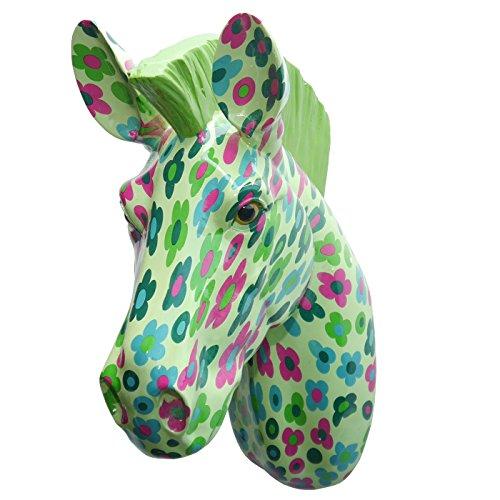 SABO Design Wanddeko Zebra 'Ziggy', 39 cm, mehrfarbig Lila Zebra
