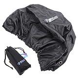 Itian 15-35L Nero Copertura Custodia di Zaino Sport Backpack copertura della pioggia Impermeabile del sacchetto di acqua resiste prova
