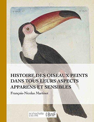 Histoire des oiseaux peints dans tous leurs aspects apparens et sensibles par François-Nicolas Martinet