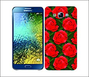 Galaxy Printed 2708 Rose Pattern Roses Hard Cover for Samsung CORE PLUS