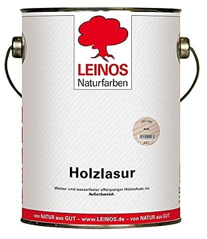 Lasure Blanc Bois Exterieur - Leinos 260 Lasure pour bois Pour