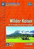 Hikeline Wanderführer Wilder Kaiser. Die 50 schönsten Touren im Kaisergebirge. 1 : 50 000, 530 km, wasserfest, GPS-Tracks Download