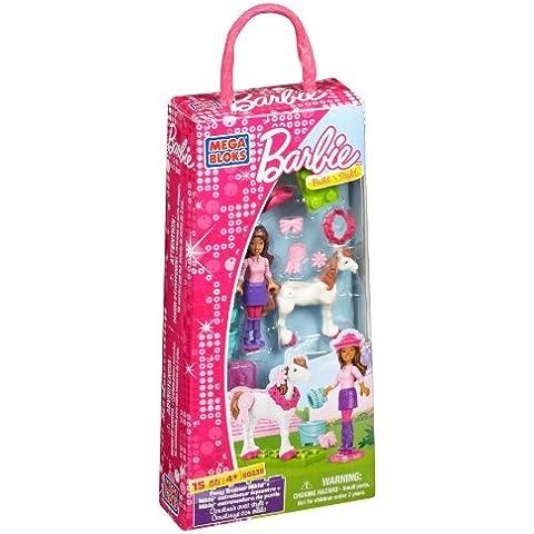 Mega Bloks 80236 Barbie Nikki Entrenadora de ponis