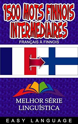 Couverture du livre 1500 Mots Finnois Intermédiaires