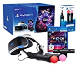 PlayStation VR2 CUH-ZVR2 'Starter Music Pack' + VR Worlds + Mandos Move Twin pack + Camara V2 + Track-Lab
